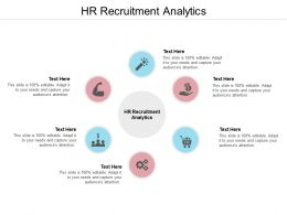 HR Recruitment Analytics Ppt Powerpoint Presentation Model Picture Cpb