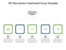 HR Recruitment Dashboard Excel Template Ppt Powerpoint Styles Influencers Cpb