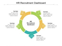 HR Recruitment Dashboard Ppt Powerpoint Presentation Portfolio Clipart Cpb