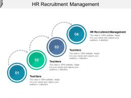 HR Recruitment Management Ppt Powerpoint Presentation Infographic Template Gridlines Cpb