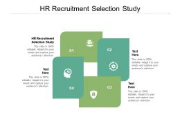 HR Recruitment Selection Study Ppt Powerpoint Presentation Ideas Themes Cpb