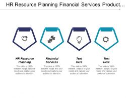Hr Resource Planning Financial Services Product Line Management Cpb