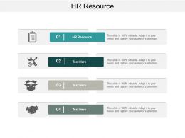 Hr Resource Ppt Powerpoint Presentation File Graphics Template Cpb