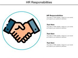 Hr Responsibilities Ppt Powerpoint Presentation Model Influencers Cpb