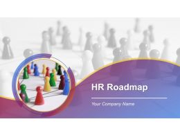 Hr Roadmap Powerpoint Presentation Slides