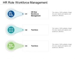 HR Role Workforce Management Ppt Powerpoint Presentation Show Summary Cpb