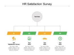 HR Satisfaction Survey Ppt Powerpoint Presentation Model Example File Cpb