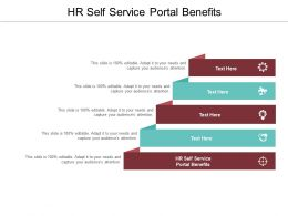 HR Self Service Portal Benefits Ppt Powerpoint Presentation Model Graphics Example Cpb