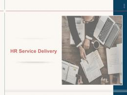 HR Service Delivery Powerpoint Presentation Slides