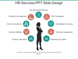 Hr Services Ppt Slide Design