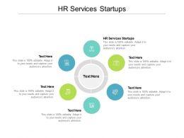 HR Services Startups Ppt Powerpoint Presentation Slides Files Cpb
