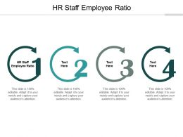 HR Staff Employee Ratio Ppt Powerpoint Presentation Infographic Template Templates Cpb