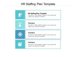 HR Staffing Plan Template Ppt Powerpoint Presentation Ideas Gallery Cpb