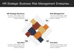Hr Strategic Business Risk Management Enterprise Security Intelligence Cpb
