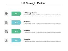HR Strategic Partner Ppt Powerpoint Presentation Good Cpb