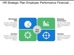 Hr Strategic Plan Employee Performance Financial Strategy Planning Cpb