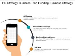 Hr Strategy Business Plan Funding Business Strategy Process Cpb