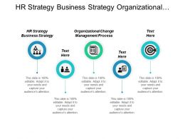 Hr Strategy Business Strategy Organizational Change Management Process Cpb