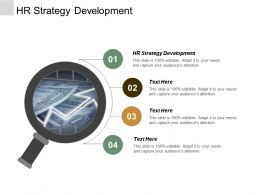 HR Strategy Development Ppt Powerpoint Presentation Gallery Introduction Cpb
