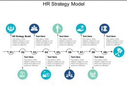 HR Strategy Model Ppt Powerpoint Presentation File Demonstration Cpb