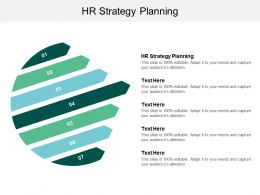 HR Strategy Planning Ppt Powerpoint Presentation Model Deck Cpb