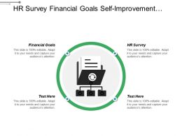 Hr Survey Financial Goals Self Improvement Retail Management Cpb