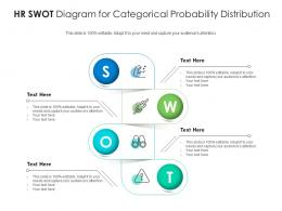 HR SWOT Diagram For Categorical Probability Distribution Infographic Template