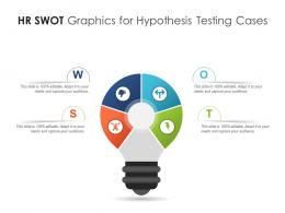 HR SWOT Graphics For Hypothesis Testing Cases Infographic Template
