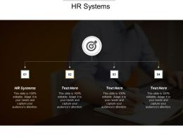 HR Systems Ppt Powerpoint Presentation Gallery Background Designs Cpb