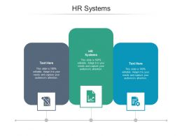 Hr Systems Ppt Powerpoint Presentation Gallery Example Cpb