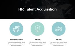 HR Talent Acquisition Ppt Powerpoint Presentation Inspiration Show Cpb