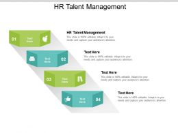 HR Talent Management Ppt Powerpoint Presentation File Design Inspiration Cpb