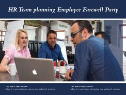 Hr Team Planning Employee Farewell Party