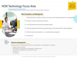 HR Technology Landscape HCM Technology Focus Area Ppt Powerpoint Presentation Graphic Tips