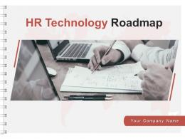 HR Technology Roadmap Powerpoint Presentation Slides