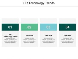 HR Technology Trends Ppt Powerpoint Presentation Styles Files Cpb