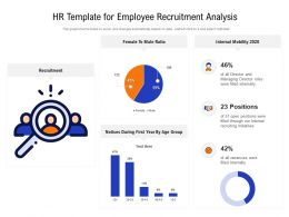 HR Template For Employee Recruitment Analysis