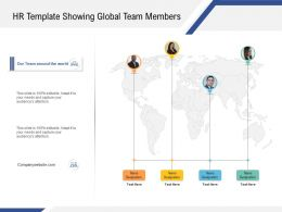 HR Template Showing Global Team Members