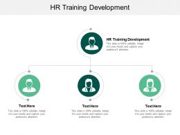 HR Training Development Ppt Powerpoint Presentation Outline Background Images Cpb