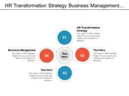 Hr Transformation Strategy Business Management Entrepreneurship Innovation Business Accounting Cpb