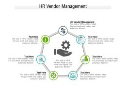 HR Vendor Management Ppt Powerpoint Presentation Inspiration Cpb