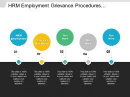 Hrm Employment Grievance Procedures Performance Review Sales Management