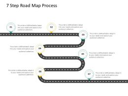 HRS Technology 7 Step Road Map Process Ppt Powerpoint Presentation Layouts Show