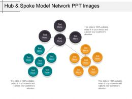 Hub And Spoke Model Network Ppt Images