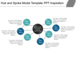 Hub And Spoke Model Template Ppt Inspiration