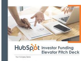 HubSpot Investor Funding Elevator Pitch Deck Ppt Template