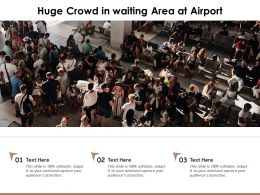 Huge Crowd In Waiting Area At Airport