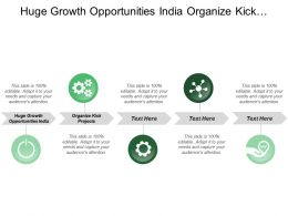 Huge Growth Opportunities India Organize Kick Projects General Correspondence