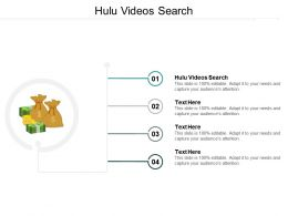 Hulu Videos Search Ppt Powerpoint Presentation Gallery Show Cpb
