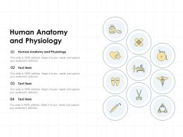 Human Anatomy And Physiology Ppt Powerpoint Presentation Layouts Professional